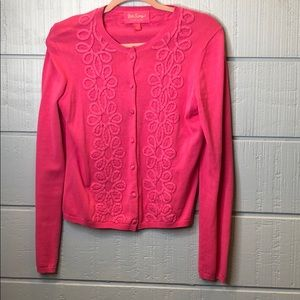 Lilly Pulitzer Sweaters - Lily Pulitzer jubilee pink cardigan